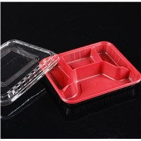 fast food plastic packaging box containers