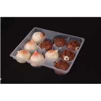plastic food tray with dividers