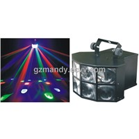 4pcs * 3W RGBW LEDs Shell Lamp LED Stage Disco Lights(MD-I010)