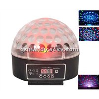 RGB LED Crystal Ball Light Mini Magic Ball For Disco with Annulus Patterns(MD-I002)
