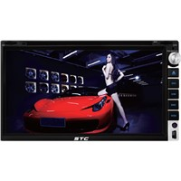 6.95' double din car dvd