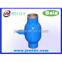 Ball valve-Stainless steel valve-valve for heating pipeline-full welded ball valve DN125