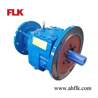 Coaxial Helical Gearbox with inline motor for converter / mixer agitator