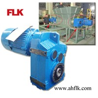 FA series Hollow Shaft Parallel Helical Geared Motor Speed Reducer