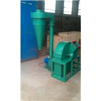 High efficiency wood crusher