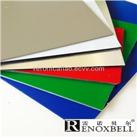 Multicoloured Aluminum Composite Panel for Wall Cladding