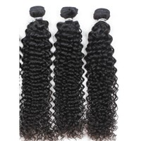 Sell full cuticle hot sale virgin human hair extension, brazilian deep wave bulk