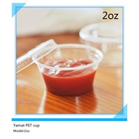 2oz PET sauce cup,chili sauce cup,condiment cup