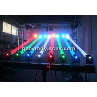 8 * 5w RGBW LED Effects Lighting 8 heads Spot Beam Light For Disco(MD-I049)