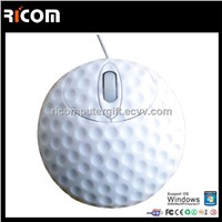 Computer Golf shape mouse,golf ball shape mouse,ball shape mouse--MO7073
