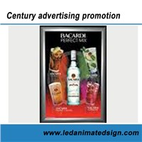 Hanging LED Commercial Light Box for Advertising