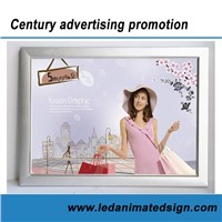 LED Illuminated Aluminum Sign Light Box for Advertisement