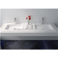 Modern Design Artificial Stone Composite Resin Handmade Wash Counter-top Basin-JZ9029