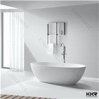 Modern acrylic solid surface freestanding bath