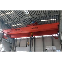 QD Type 16/3t-20/5t Slow Speed Hook Bridge Crane
