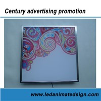 Silk Printing LED Panel Light for Business Decoration