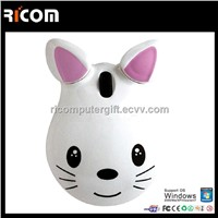 computer Cat mouse,cat shape optical mouse,promotion gift mouse--MO7024