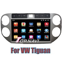 10.1'' Android 4.2.2 Car DVD GPS Navigation For Vw Tiguan With RDS IPOD BT TV  Wifi  3G capacitive