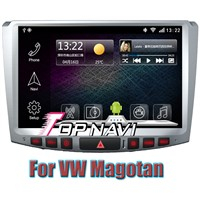 10.1'' Android 4.2.2 Car DVD GPS Navigation For Vw  Magotan With RDS IPOD BT TV  Wifi  3G capacitive