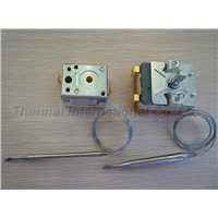 Electric Fryer use  Capillary Thermostat with CE,UL