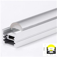 Mounting Clips Aluminium LED Linear With Clear Lens Diffuser
