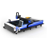 500W metal sheets and pipes HS-M3015B fiber laser cutting bed