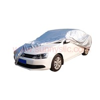 Silver coated durable polyester oxford car/auto covers high UV protection water proof hotsale