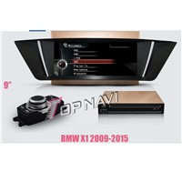 1024*600 7'' capacitive  car DVD stereo for  BWM X1 2009-2015 with  ipod bt tv