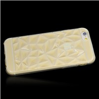 3D Rhombus TPU Back Case Cover Shell Protective Case