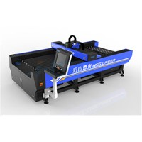 HS-F1325 fiber laser cutting bed with 25m/min speed in China cuttin stainless steel