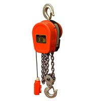 High efficiency single speed electric/block chain hoist