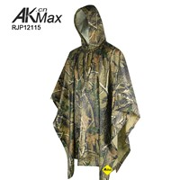 Jungle camouflage Raincoat poncho Military raincoat