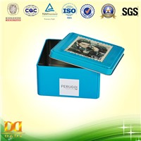 Tie Packing Tin Box, Square Box, Gift Box