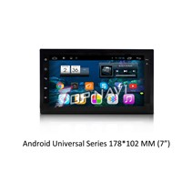 capacitive android 4.2 car gps navigation without DVD  for Universal double din 7 inch with wifi
