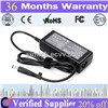 travel 18.5V3.5A notebook power adapter for HP 7.4*5.0