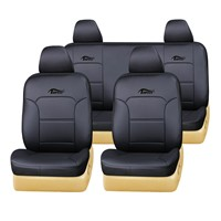 2015 PVC Black Toyota car seat cover