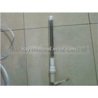 Quartz heating element