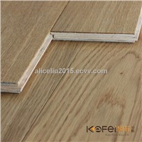Oak engineered flooring, strong wear resistance with Good After Sales Wood Flooring