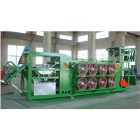 Rubber profile tire plant batch off cooling machine