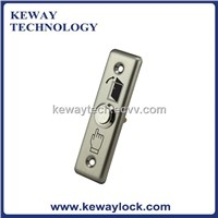 Stainless Steel Door Release Push Button Narrow Exit Button
