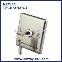 Stainless Steel Emergency Door Release Key Switch
