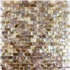 MOP-C01 Natural Colorful Shell Mosaic Bathroom wall Floor Tile