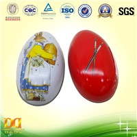 Egg Shaped Easter candy packing box