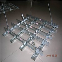 High strength light steel ceiling grid main channel furring channel