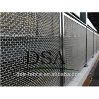 Crimped woven wire fence/fences for cottages