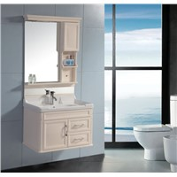 European style bathroom cabinet with mirror and light OGF316