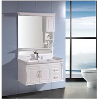 modern bathroom cabinet with led light OGF295
