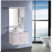modern pvc  bathroom cabinet with light OGF 292