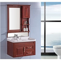 Classic style bathroom cabinet with led light OGX077