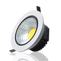 3W \ 5W \ 7W \ 10W \ 12W \ 15 \ 20W Indoor Lighting LED COB Downlight